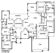 5 bedroom floor plans | ... - The Paddington 5 Bedroom - Floor Plan | Flickr - Photo Sharing