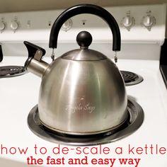 The No Scrub Way to De-Scale a Kettle :: Hometalk