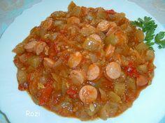 Rozi erdélyi,székely konyhája: Töklecsó Shrimp, Salsa, Mexican, Meat, Ethnic Recipes, Food, Essen, Salsa Music, Meals