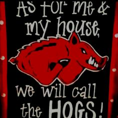 ...we will call the HOGS!!