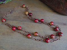 Collar de occidental, suroeste collar, collar de vaquera, Western joyería, * Miriam * gratis envío-USA