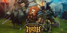 Throne Rush is available on mobile devices, and we can play it on Facebook. It is a copy of Clash of Clans. The subject is very similar, but differs