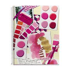 Colour Palette notebook by Jordi Labanda for MIQUELRIUS