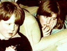 Lady Diana and her brother
