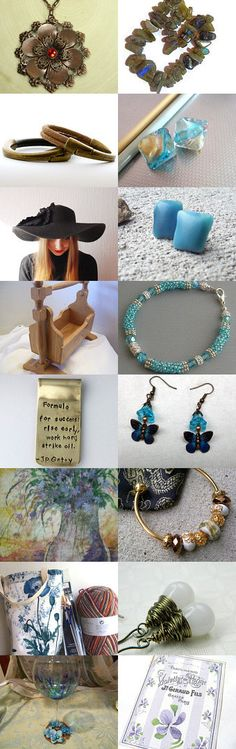 A STATTeam Thank You Treasury For You! by Marge on Etsy--Pinned with TreasuryPin.com #Estyhandmade #giftideas #spring finds  #handmadejewelry