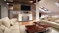 Boathouse living room visualisation