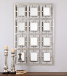 Uttermost Dodici Silver Mirror - 40W x 60H in. - Mirrors at Hayneedle