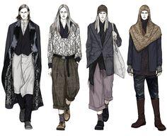 Fashion Illustrator Mengjie Di