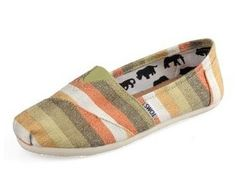 192dc88aee3 Women s Cheap Toms Rainbow Striped Shoe   Toms Outlet Shoes Online