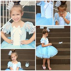 Cinderella costume princess custom costume 2t por primafashions