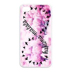 Hakuna Matata Pink Flowers No Worries Durable Hard Plastic Customized Case for iPhone 4/4s 5/5s 5C $9.99