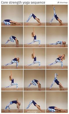 Strengthen your core, free your hips, work on your balance and open your heart in this creative yoga sequence by Esther Ekhart.