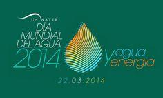 Día Mundial del Agua 2014: Agua y Energía.  Las principales celebraciones del Día Mundial del Agua 2014 serán organizadas por la Universidad de las Naciones Unidas (UNU) y la Organización de las Naciones Unidas para el Desarrollo Industrial (ONUDI) en nombre de ONU-Agua los 20-21 de marzo de 2014 y llevarán a cabo en la sede de la UNU en Tokio, Japón.