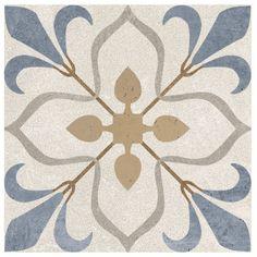 Stencil Patterns, Tile Patterns, Metal Wall Decor, Metal Wall Art, Flower Crown Tutorial, Modern Restaurant Design, Ornament Drawing, Portuguese Tiles, Painted Floors
