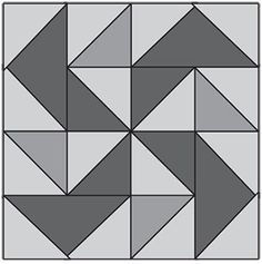 "Yankee Puzzle, part of Quilter's World's FREE Quilt Block of the Month. Get the download here: http://www.quiltersworld.com/Quilt_Block/?id=7  ""Like"" the Quilter's World Facebook page so you don't miss a single monthly installment: https://www.facebook.com/QuiltersWorldMag"