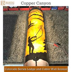 Copper Canyon Colorado Series Lodge and Cabin Wall Sconce Lighting