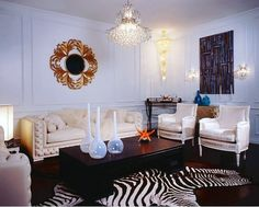 A zebra rug is always a popular choice   Tap the link in our profile to shop for premium zebra rugs!