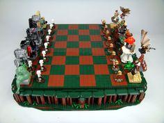 Xadrez de Star Wars feito de LEGO