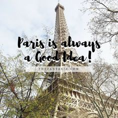 Paris is Always a Good Idea! Thinking about that getaway or last minute trip to Paris? Let this visual guide be your inspiration! Last Minute Travel, Photo Diary, Travel Around The World, Travel Photos, Good Things, Paris, Fun Stuff, Inspiration, Fantasy