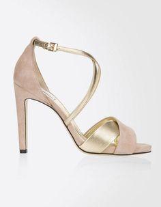 Chaussure de mariée rose Max Mara printemps été 2015