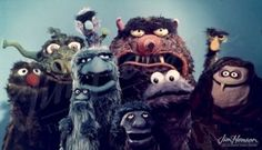 Assorted monsters, late 1960s - Jim Henson