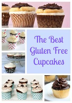 Gluten Free Cupcake Recipes are the best desserts for parties. These are so good that you'd never know that they are gluten-free!