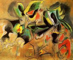 """Arshile Gorky """"Apple Orchard"""", 1946"""