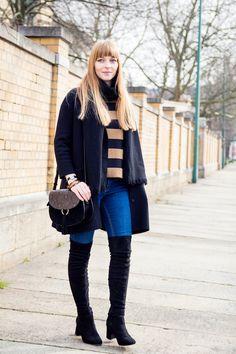 #overknees #overtheknee #thighhighboots #bluejeans #howto #style #mystle #modeblog #blogger #styleblog #casual #saddlebag #Topshop