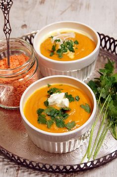 Zupa z czerwonej soczewicy #thermomix #soup Little Bunny Foo Foo, Three Little Pigs, Mellow Yellow, Thai Red Curry, Soup Recipes, Good Food, Food And Drink, Cooking, Ethnic Recipes