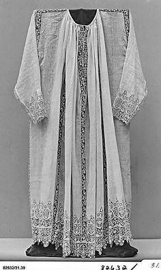 Date: early 17th century. Culture: Italian. Medium: Linen, needle lace