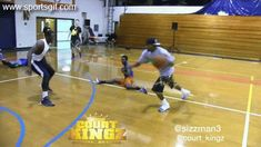 Basketball street ball legend Hot Sauce does the best crossover ever