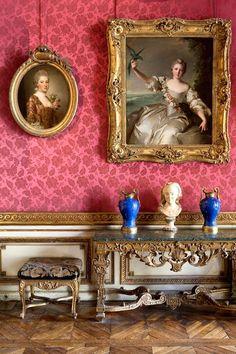 french pink .. X ღɱɧღ || Musée Jacquemart-André