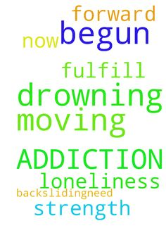 have begun drowning AGAIN IN ADDICTION. was moving -  have begun drowning AGAIN IN ADDICTION. was moving forward and now backsliding....need prayers for strength and to fulfill my loneliness. please pray for me.  Posted at: https://prayerrequest.com/t/5Nj #pray #prayer #request #prayerrequest