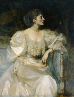 """Diana MacDonald"" (1894) by James Jebusa Shannon (1862-1923)."