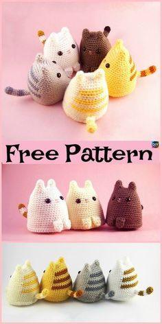 Mesmerizing Crochet an Amigurumi Rabbit Ideas. Lovely Crochet an Amigurumi Rabbit Ideas. Chat Crochet, Crochet Mignon, Crochet Patterns Amigurumi, Crochet Dolls, Crochet Baby, Free Crochet, Knitting Patterns, Blanket Patterns, Kids Patterns