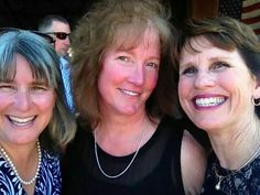 Nancy, Connie,  Annette