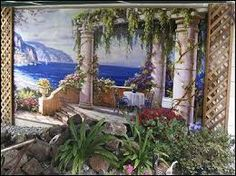 Image result for victorian wall murals