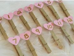 Lindsay's Sweet World: Pink and gold first birthday party - decorations Pink And Gold Birthday Party, First Birthday Party Decorations, Gold First Birthday, Baby Girl 1st Birthday, Gold Party, Birthday Fun, First Birthday Parties, Birthday Ideas, Blue Birthday