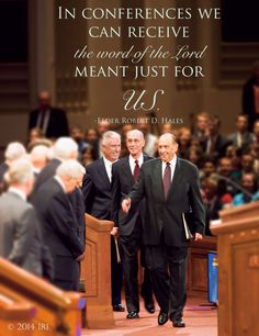 """General Conference is coming soon! Are you ready for conference? Last conference Elder Hales promised, """"To the young members of the Church, I promise that if you will listen, you will feel the Spirit well up within you. The Lord will tell you what He wants you to do with your life."""""""