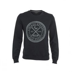 945eb9095495bb The Old Khaki Fraser is a long sleeve sweat shirt with a waffle knit design  and features a classic Old Khaki motif on the front.