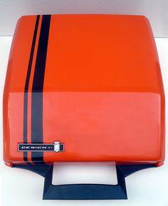 Karmann Ghia Designed typewriter
