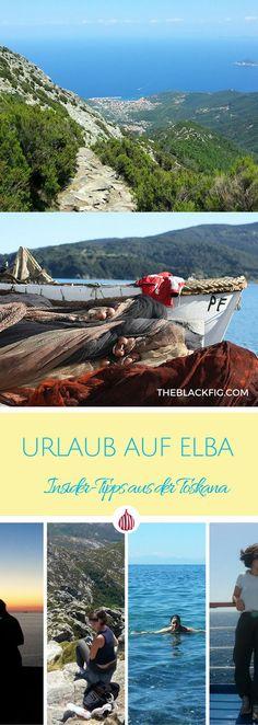 Urlaub-Tipps für die Insel Elba, Toskana. #toskana #italien Elba Island, Dream Vacations, Italy Travel, Tuscany, Great Places, Countryside, Road Trip, Around The Worlds