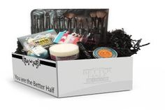 Better Half Box: Better Half Box is a subscription box for people who are in a relationship. Better half box offers monthly women's and men's boxes centered around a new and exciting theme every month. The boxes have 5-6 full sized products for lifestyle, beauty, fashion and home.
