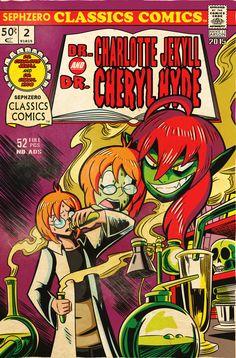 MM 2015 - Vintage Comic Cases 02 - MichaelJLarson by Sephzero.deviantart.com on @DeviantArt