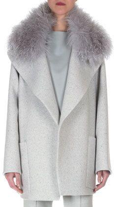 Cashmere Fur Collar