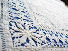 Monogrammed Whitework Hand Embroidery - Vintage Linen