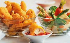 Bild: GUSTO / Eisenhut & Mayer Tempura, Prosciutto, Chili Sauce, Snack Recipes, Snacks, Chips, Food, Sherry Vinegar, Ribs