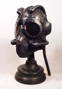 Steampunk leather masks by Bob Bassett - Very cool!