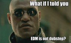 EDM is NOT Dubstep