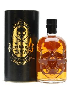 Caribbean Jack is a rum from Trinidad, released by German independent bottlers The Whisky Agency, presented in an eerie skull-fronted bottle.
